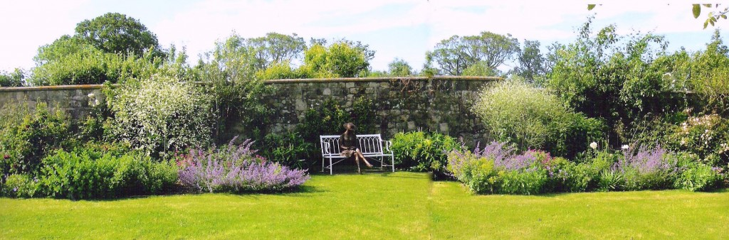 Dorset herbaceous border