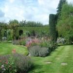 Formal Garden Informal planting